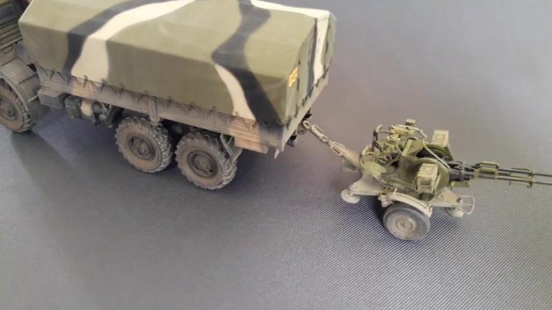 Камаз 4310 и ЗУ-23-2