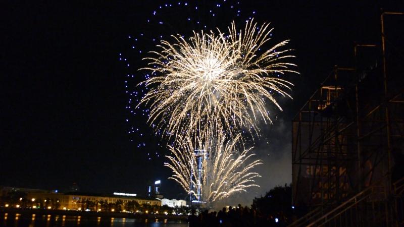 5 Фестиваль фейерверков на Дне Екб 2018 участники из Мальты