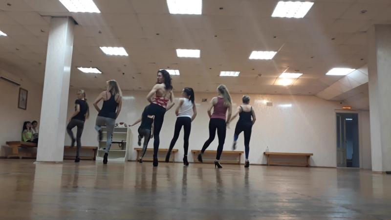 Группа Strip/High Heels - начинающие