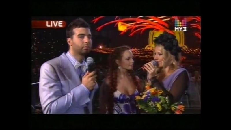 Интервью на Премии Муз-ТВ 2010 (11.06.10)
