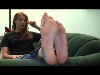 Meagan socks and feet