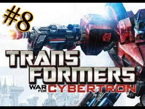 Let's play Трансформеры Битва за Кибертрон 8 серия