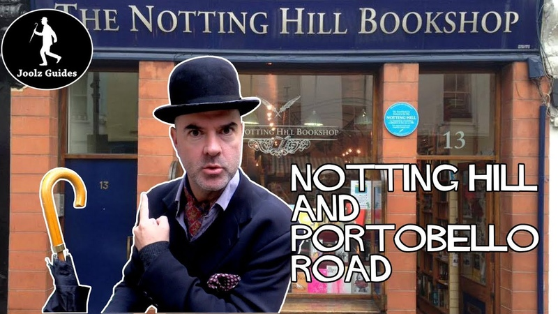 Notting Hill and Portobello Road Market Walking Tour