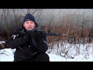 [Тюнинг пневматического оружия] Саундмодератор для  АК-74М СХП ИЖМАШ Sound moderator