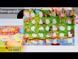 Обзор - распаковка игрушек Пазлы - абетка Казкове королiвство ДАНКО - ТОЙС
