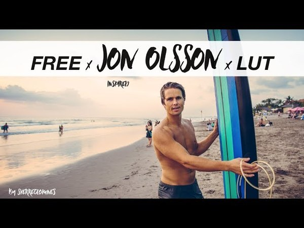Jon Olsson Color Grading Lut 2018 FREE DOWNLOAD