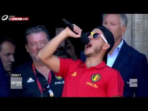 Eden Hazard CHAUD met une AMBIANCE de feu à Bruxelles!
