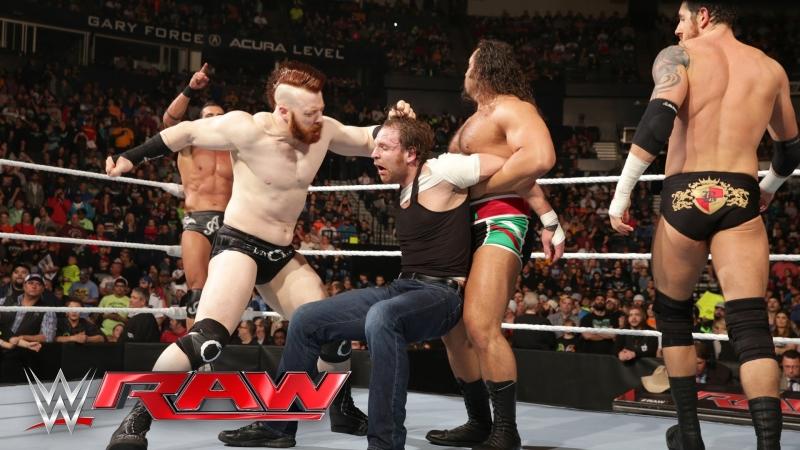 Dean Ambrose vs Alberto Del Rio (29.02.16)