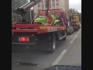 Беспощадные ростовские эвакуаторщики - Это Ростов-на-Дону!