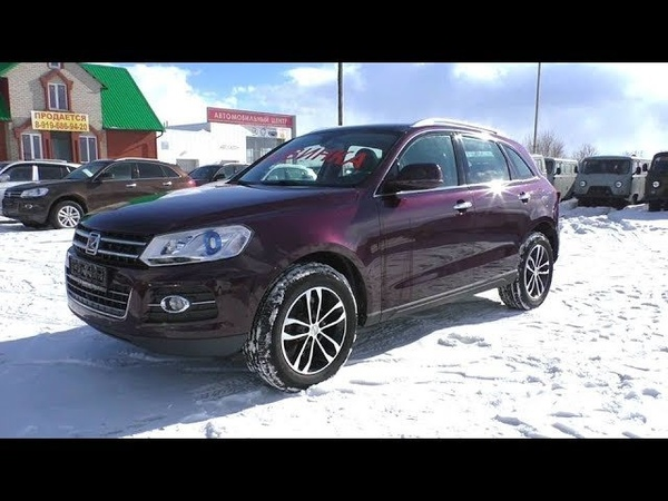 2018 Zotye T600 2.5T. Start Up, Engine, and In Depth Tour.