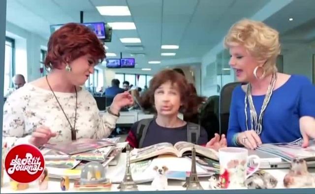 Fionine mange du Nutella avec Catherine 💩