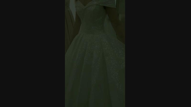 Платье кекс Золушка