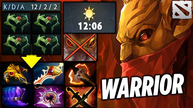 AXX BH SUPER WARRIOR [Pro Girl Player] Dota 2