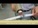 Испытание труб Pex-a и Pex-b на изгиб