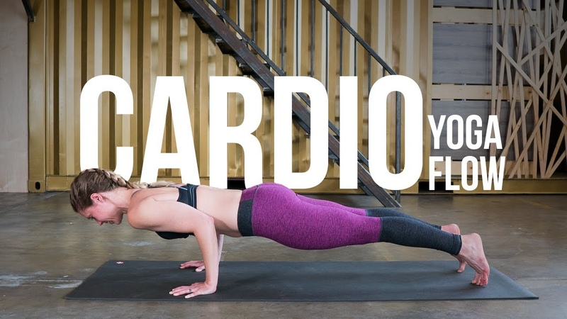 20-Minute Cardio Focused Power Vinyasa Yoga Class with Michelle Stanger
