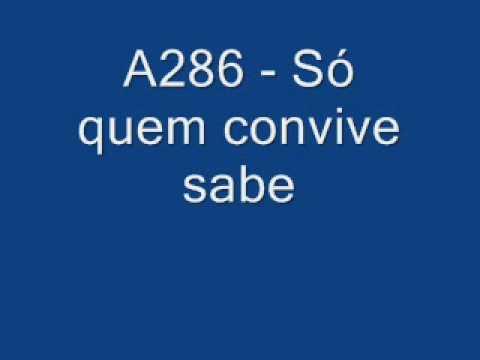 A286 Só quem convive sabe