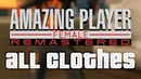 Amazing player: Female [REMASTERED] - all clothes