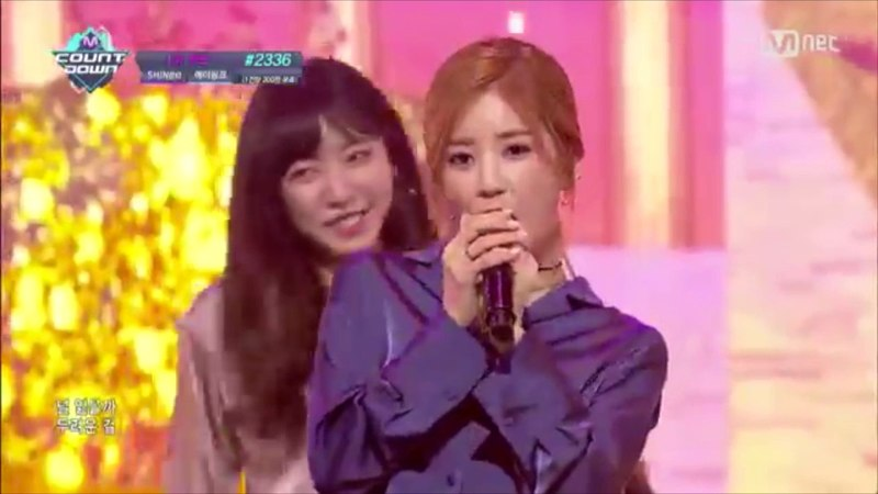 MR Removed - [Apink - Only One] KPOP TV Show   M COUNTDOWN 161013