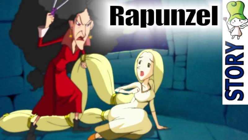 Rapunzel Bedtime Story Animation