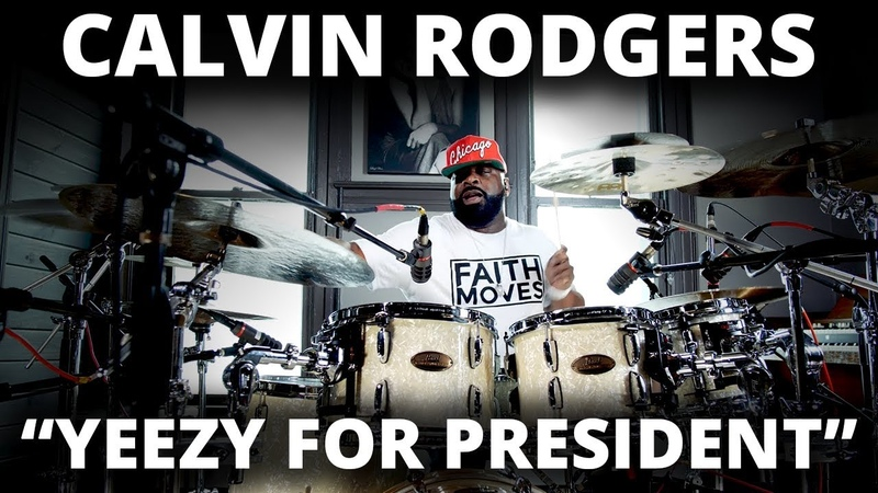 Meinl Cymbals - Calvin Rodgers - Yeezy for President