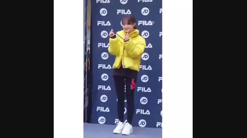 181020 Fansign opening - FILA x Kim Yoo jung - - Have you heard fans said