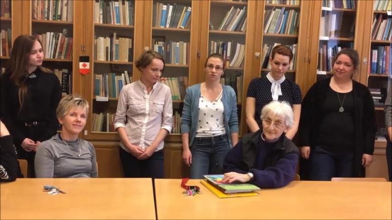 Коллеги из Венгрии поздравляют УдГУ с 87-летием