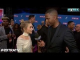 Extra Catches Up with Sabrina Carpenter at the MTV VMAs