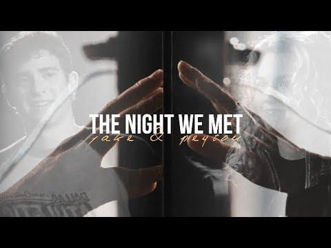 Jake peyton | the night we met