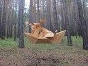 069 Парк деревянные скульптуры России Park wooden sculpture carving резьба по дереву бензопилой арт