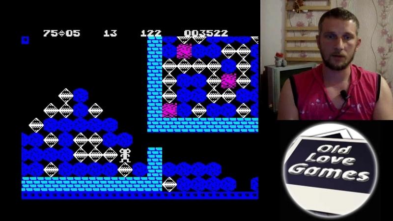 Boulder Dash ZX Spectrum Fast Food series 2 Day 9
