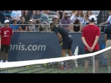 This is how Benoit Paire went out in Washington. CitiOpen