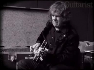 Gary Moore playing for the last time - Guitarist Magazine.mp4