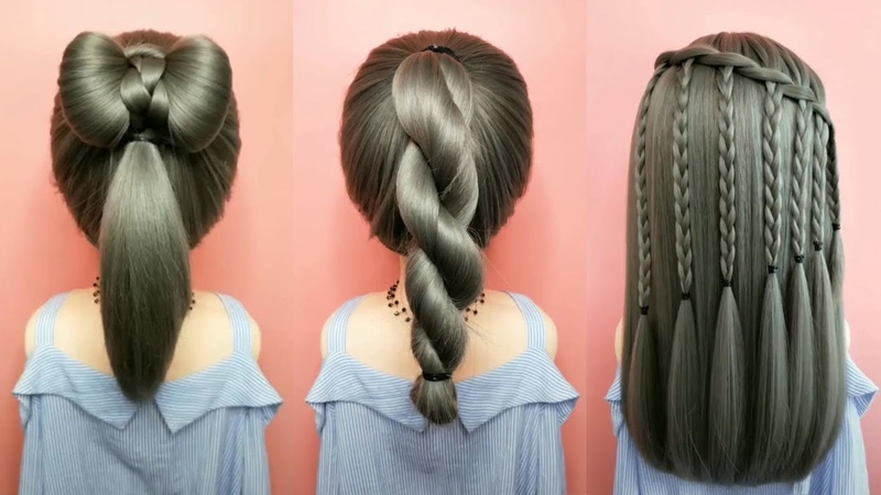 26 Braided Back To School HEATLESS Hairstyles 🌺 Best Hairstyles for Girls Part 50