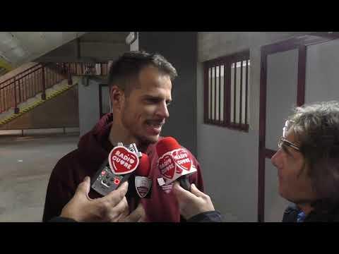 Reggina-Trapani 1-1. Scognamillo e Costa Ferreira dopo la gara
