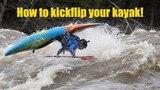 How to kickflip your kayak with Bren Orton