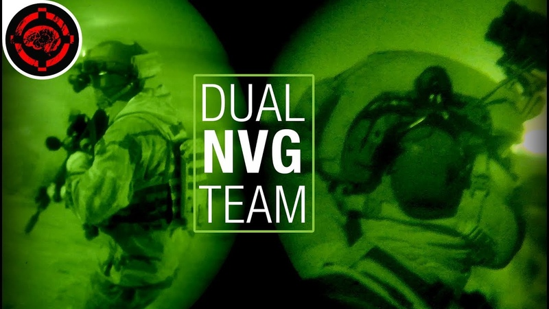 Best Night Vision Airsoft Gameplay (2 Man Nod Squad)