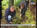 Во время экологического месячника добровольцы посадили в Чебоксарах тысячи деревьев и кустарников