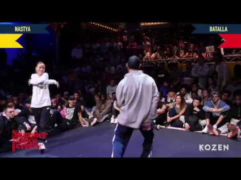 Nastya vs Batalla SEMI FINAL Hiphop Forever Warrior Edition - Summer Dance Forever 2018