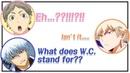 Daily Conversation What does WC stand for Sugita Nobuhiko Miyu ⎮ CoLLa Game