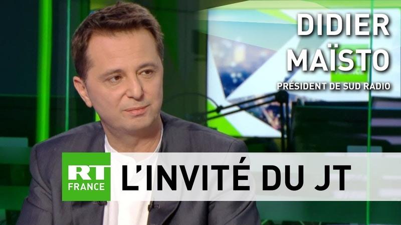 Didier Maïsto «Le LBD est une arme de guerre quon met dans les mains de gens irresponsables»