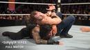 FULL MATCH Dean Ambrose vs Roman Reigns WWE World Heavyweight Title Survivor Series 2015