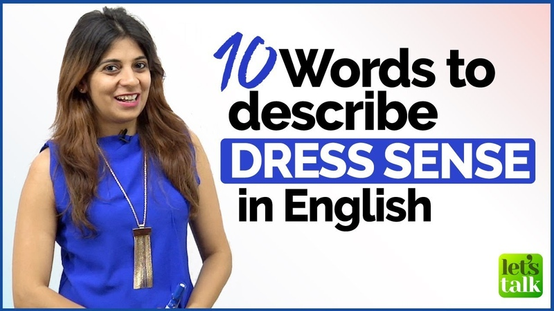 Talking about someone's DRESS SENSE | English Vocabulary Lesson for Beginners Advanced Level |