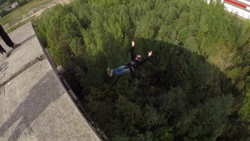 Прыжки с Крематория с командой RAPT - Сергей
