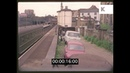 Run Down Train Platform 1960s London in HD