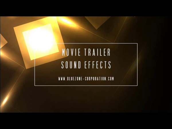 Bluezone Corporation Movie Trailer Sound Effects - WAV Cinematic Sample Pack for Download