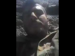 Бойцов САА в районе Аль Сафа, обстреляли снайпера террористов ИГ*(запрещено в России)#Сирия #Россия #САА