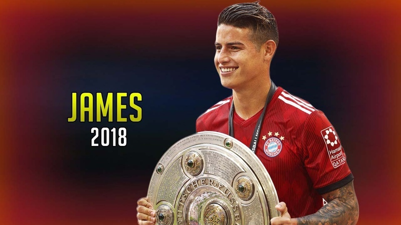 James Rodriguez 2018 ● видеообзор от vk.com/securitta