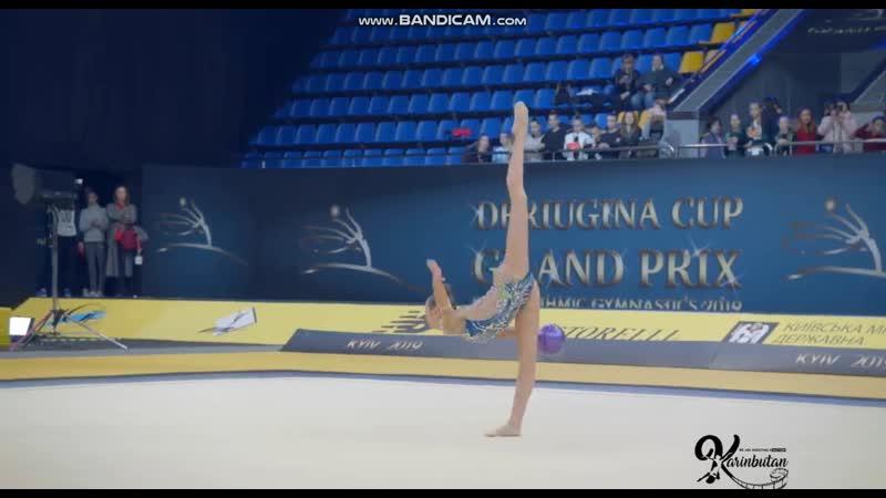 Полина Орлова - Мяч (финал) Deriugina Cup 2019, Киев