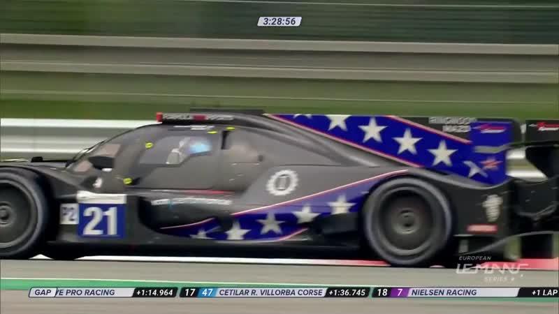 ELMS 2019. Round 2. Monza. Race Part 1