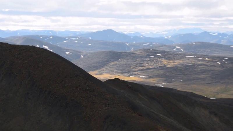 Суровые горы Бырранга Таймыр